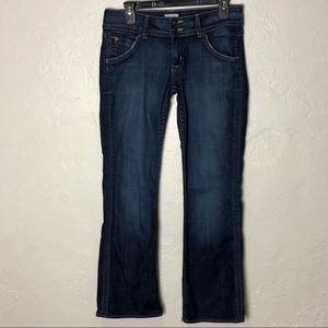 "Hudson Jeans | Signature bootcut 19"" leg opening"